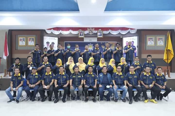 Bupati Iksan Iskandar Lantik Pengurus AMPI Jeneponto Periode 2017-2022