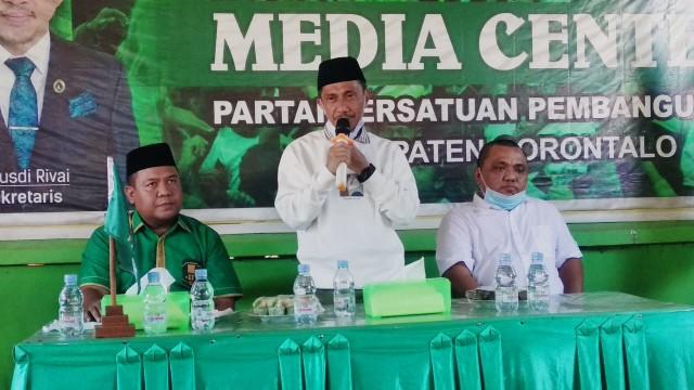 Kantongi Rekomendasi Golkar dan PPP, Pomalingo - Hemeto Pastikan Maju Pilkada Gorontalo