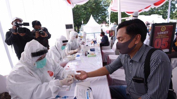 Arif Fathoni Apresiasi Rapid Test Massal dan Marathon Yang Digelar BIN di Zona Merah Kota Surabaya