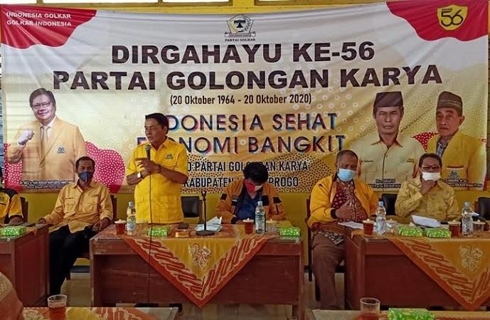 Raih Lagi Kejayaan Golkar di Jogja, Gandung Pardiman Minta Para Calon Ketua PK Fit and Proper Test