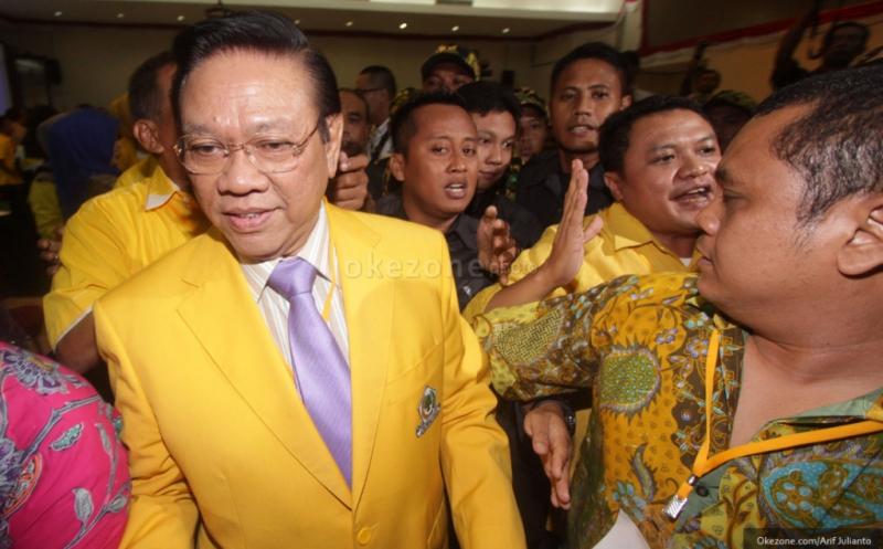 Agung Laksono Doakan Airlangga Terpilih Jadi Ketum Golkar 2019-2024