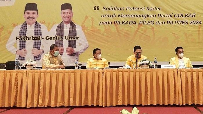 Dinilai Kantong Suara Golkar, Ahmad Doli Kurnia Minta Target Kemenangan Sumbar Di Atas Nasional