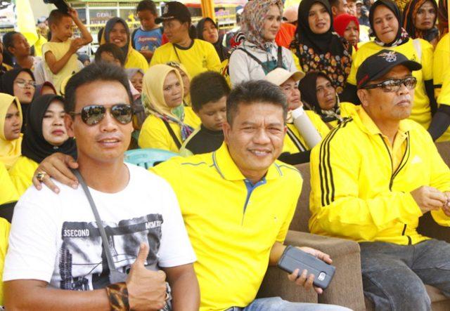 Ribuan Peserta Antusias Ikuti Jalan Santai HUT Golkar Kabupaten Bandung ke-55