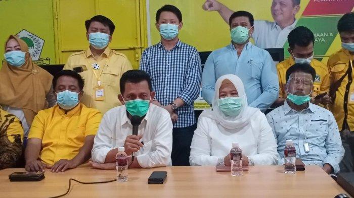 Ade Angga Umumkan Hasil Quick Count LSI, Ansar Ahmad-Marlin Agustina Menangkan Pilgub Kepri