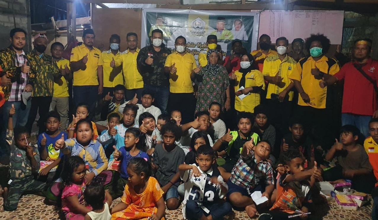 Tebar Kebaikan Jelang Lebaran, AMPG Papua Barat Santuni Yatim Piatu di Manokwari