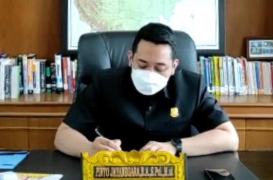 Wakil Ketua DPRD Jambi, Pinto Jayanegara Hadiri Musrenbang RKPD Kabupaten Merangin TA 2022