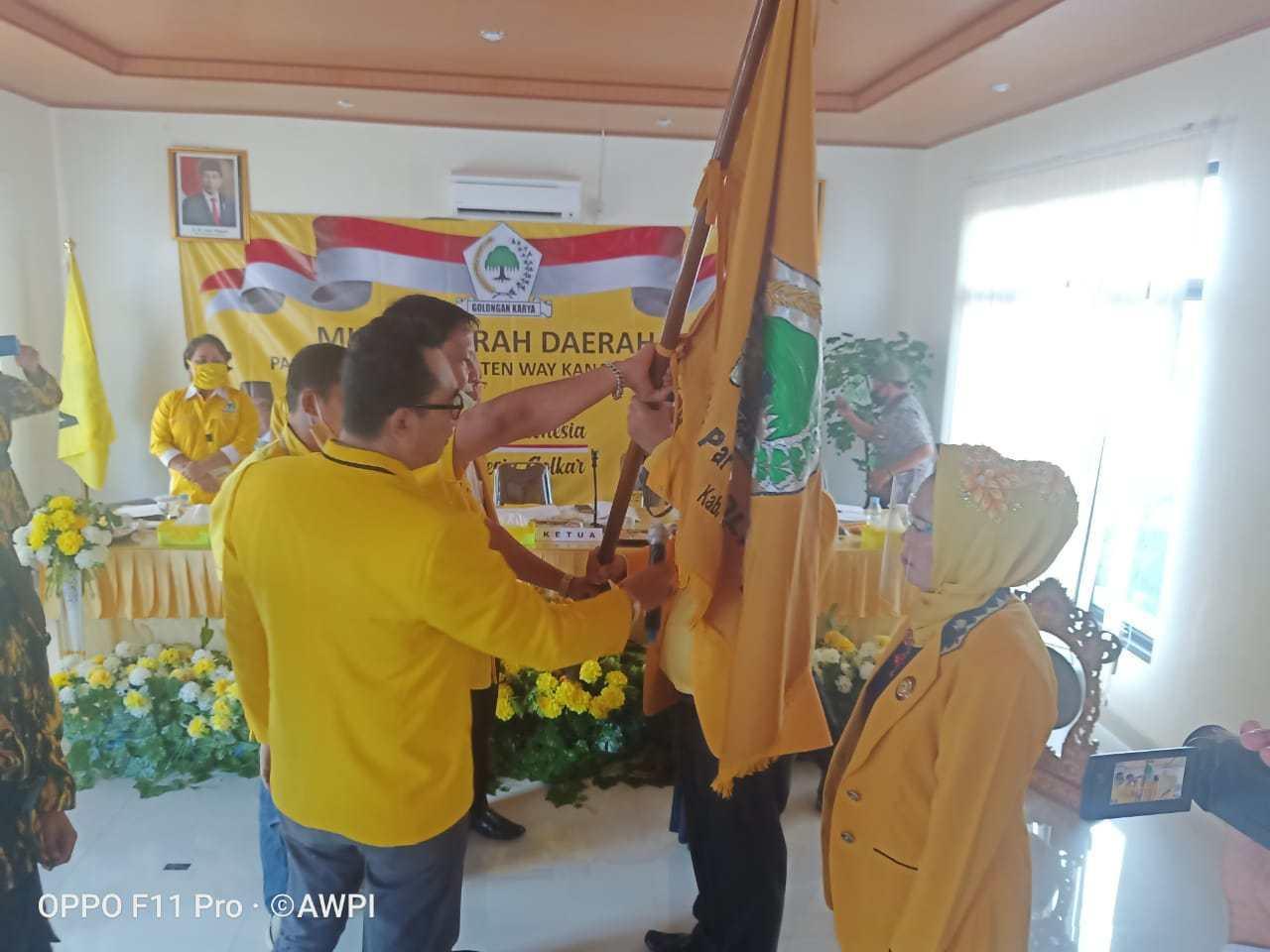 Terpilih Pimpin Golkar Way Kanan, Bambang Irawan Siap Menangkan Pasangan BERANI di Pilkada 2020