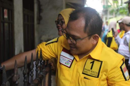 Caci Maki Wartawan, Relawan Jokowi Nilai Basri Baco Rusak Nama Baik Golkar