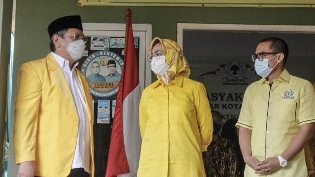 Ben-Pilar Ditetapkan Jadi Walikota-Wakil Walikota Terpilih, Golkar Tangsel Gelar Syukuran