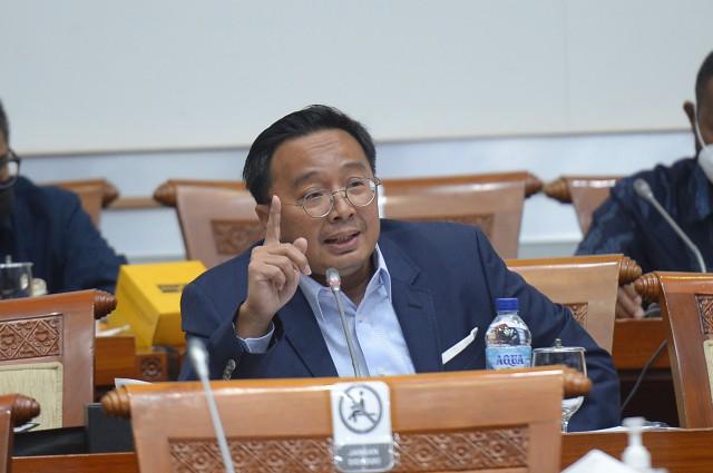 Bobby Rizaldi Soroti Pengaturan Agregasi Data Untuk Sektor Pemerintah dan Swasta
