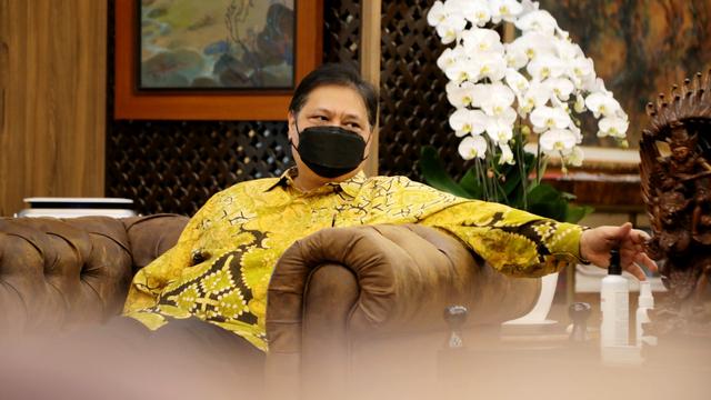 Airlangga: Warga Jabar Tak Disiplin Pakai Masker, Kader Golkar Wajib Kawal Pemda