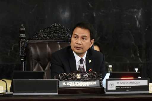 Azis Syamsuddin Minta Seluruh Anggota DPR Tetap di Rumah Selama Libur Natal dan Tahun Baru