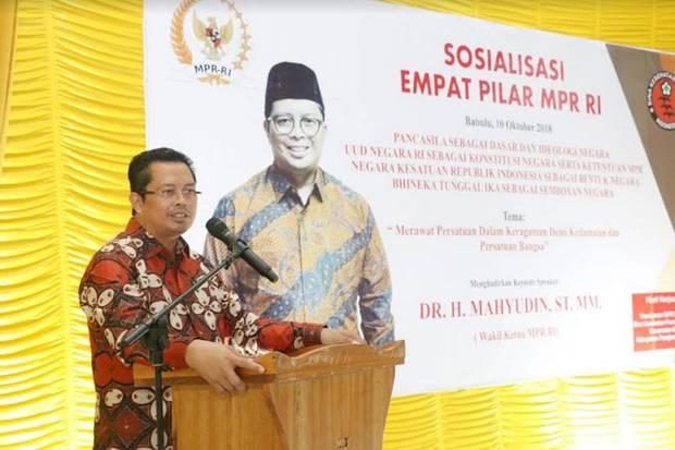 Wakil Ketua DPD RI, Mahyudin: Kewenangan DPD Terbatas, Sistem Bikameral Jauh Dari Harapan