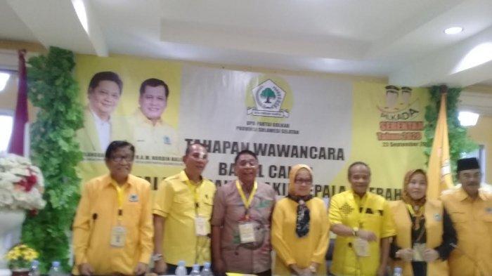 Theofilus Allorerung dan Viktor Datuan Batara Berebut Tiket Golkar di Pilkada Tana Toraja 2020