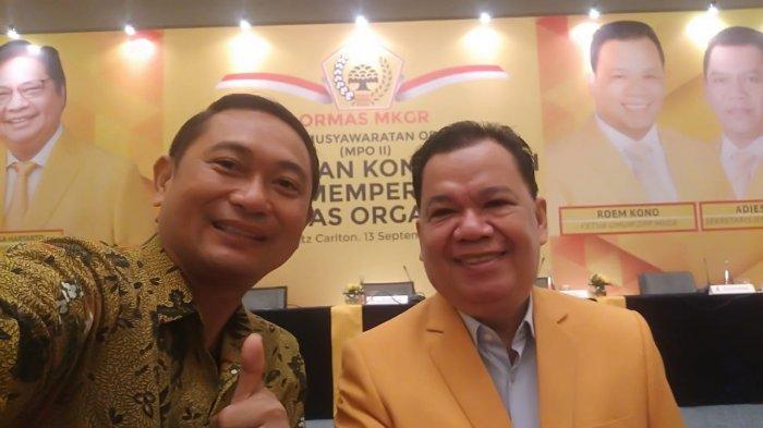 Lucky Mangkey Tegaskan Kader Ormas MKGR Sulut Wajib Dukung Calon Kepala Daerah Usungan Golkar
