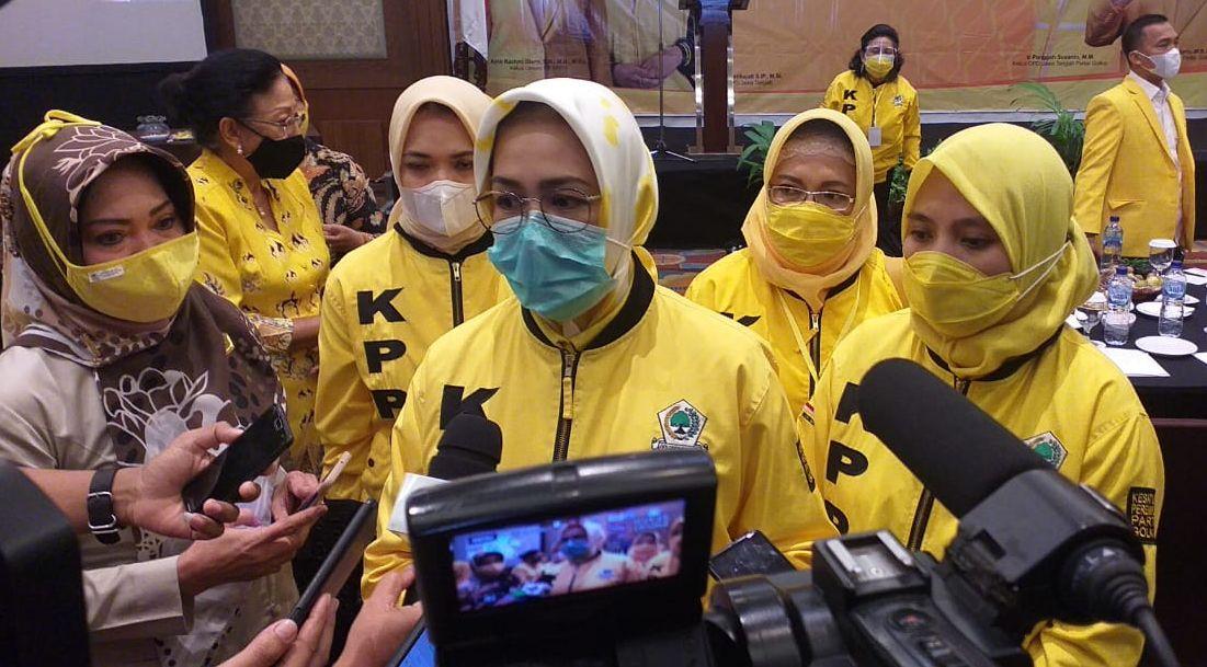 Airin Rachmi Diany Minta KPPG Jawa Tengah Tetap Jaga Soliditas Usai Dilantik