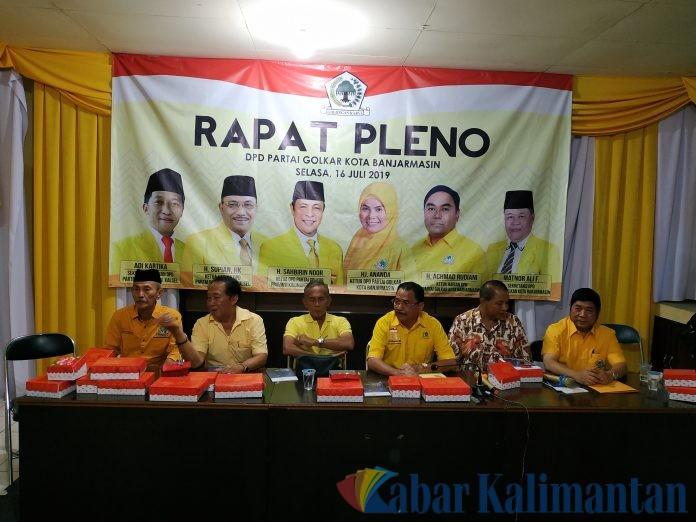 Golkar Sayembarakan Cawagub Kalsel Mulai 27 Agustus Depan, Minat?