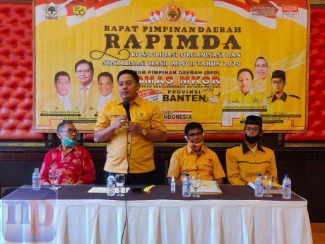 Achmad Taufan Soedirjo Satukan Suara Ormas MKGR se-Banten Dukung Adies Kadir di Mubes