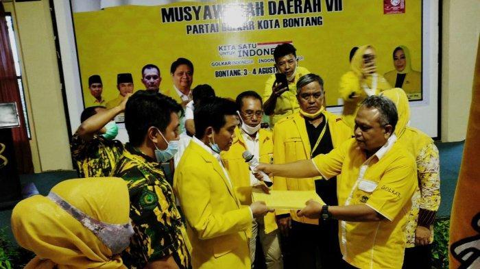 Andi Faizal Hasdam Pimpin Golkar Bontang, Ini Harapan Walikota Neni Moerniaeni