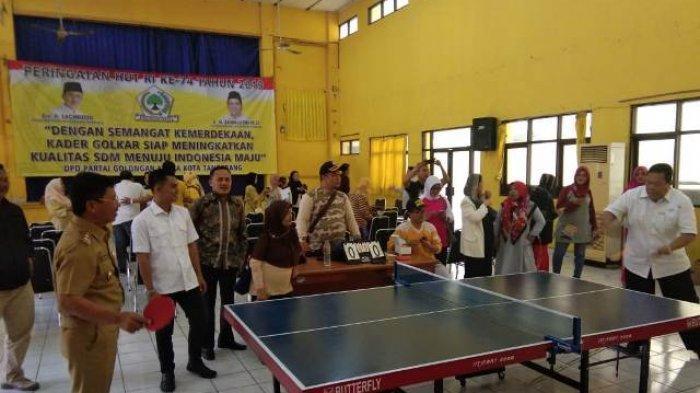 Rayakan HUT Ke-74 RI, Golkar Kota Tangerang Gelar Aneka Lomba Olahraga