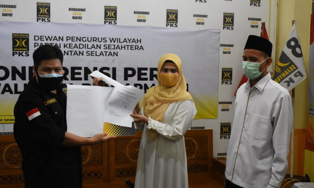 PKS Resmi Usung Pasangan Hj Ananda-Mushaffa Zakir di Pilkada Kota Banjarmasin 2020