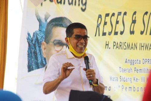 Digugurkan Dari Calon Ketua Golkar Kota Pekanbaru, Ini Sindiran Telak Parisman Ihwan