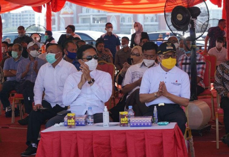 Taufan Pawe Sebut Twin Tower di Kawasan CPI Makassar Ikon Peradaban Sulsel
