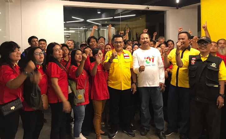 Pusdal SOKSI DKI Jakarta Luncurkan Cyber Campaign dan Road Show Pasar Rakyat