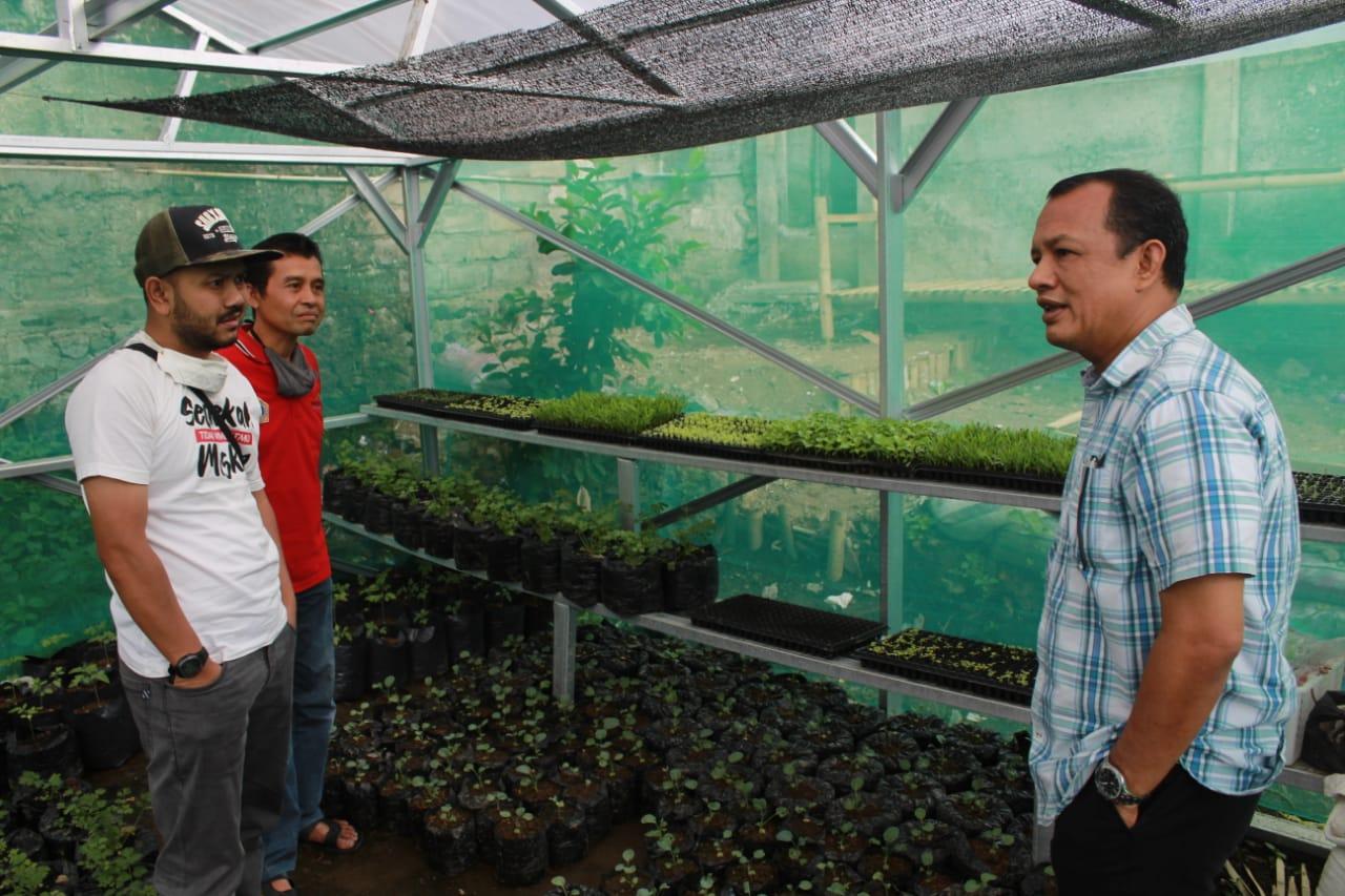 Budhy Setiawan Minta Pemkab Cianjur Tegas Terkait Alih Fungsi Lahan Pertanian di Cipanas