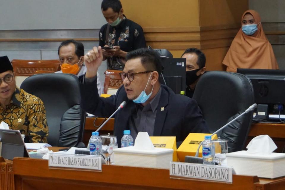 Ace Hasan Ingatkan Kemenag Hati-Hati Terkait Kebijakan New Normal di Pesantren