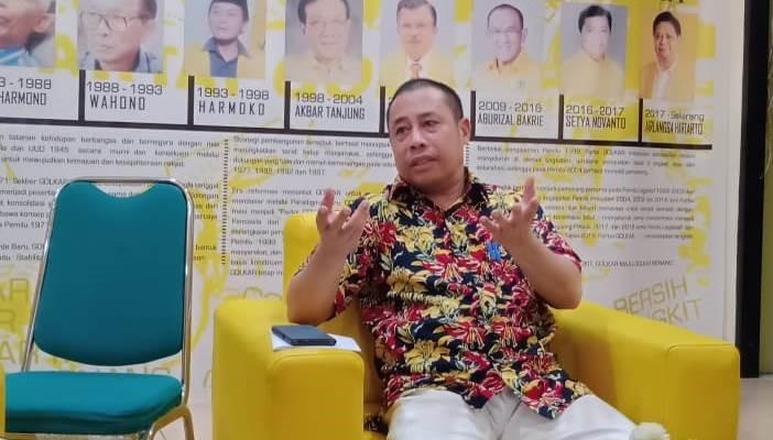 DPP Tunda Pelaksanaan Musda Golkar Maluku Utara