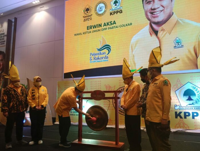 Targetkan Menang Pemilu 2024, Erwin Aksa Kawal Konsolidasi AMPG dan KPPG Sulsel
