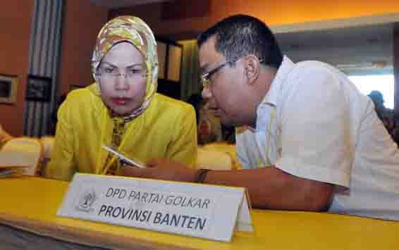 Ratu Tatu Chasanah Minta Kader Golkar Serang Tak Terpancing Fitnah dan Black Campaign