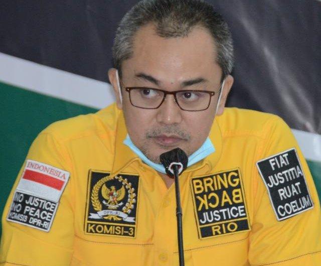 Prihatin Lapas Tangerang Terbakar, Andi Rio Idris Minta Kemenkumham Tingkatkan Sistem Pengamanan