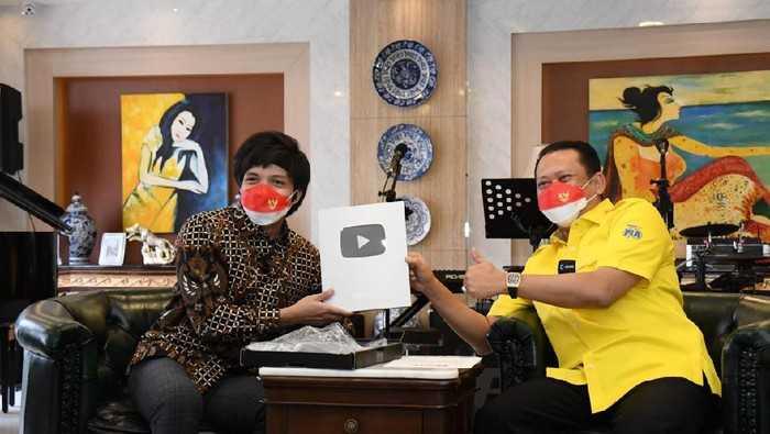 Tak Hanya Youtube, Bamsoet Juga Bakal Sosialisasikan 4 Pilar MPR Lewat TikTok