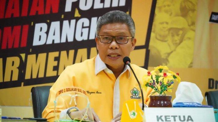 Taufan Pawe Wajibkan Kader Golkar Sulsel Menangkan Irman Yasin Limpo-Andi Zunnun Halid