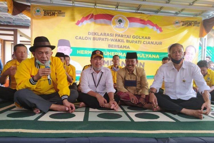 Golkar Dukung Herman Suherman-TB Mulyana di Pilkada Cianjur 2020