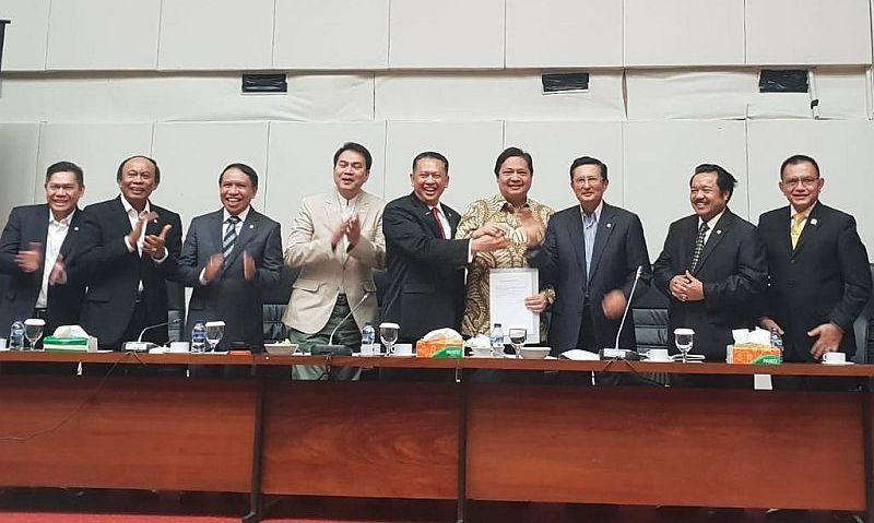 Bamsoet Jadi Ketua MPR Pertama Dari Golkar Pasca Reformasi