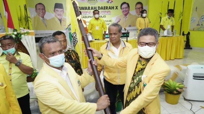 Terpilih Aklamasi, Baso Rahmanuddin Siap Kembalikan Golkar Jadi Partai Nomor Satu di Wajo