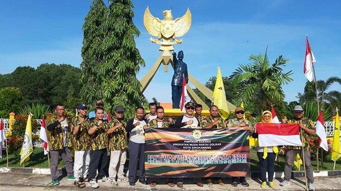 AMPG Singkawang Sukses Laksanakan Bhakti di Batas Negeri