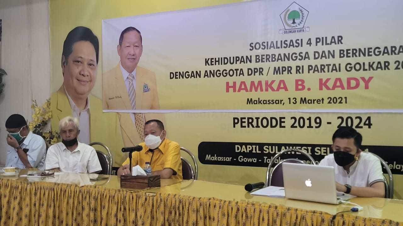 Hamka Baco Kady Ajak Warga Makassar Jadikan Empat Pilar Kebangsaan Landasan Kematangan Berpikir