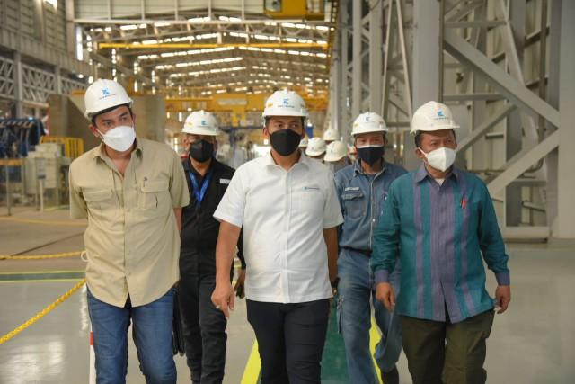 Maman Abdurrahman Apresiasi Krakatau Steel Mampu Implementasikan Teknologi Industri 4.0