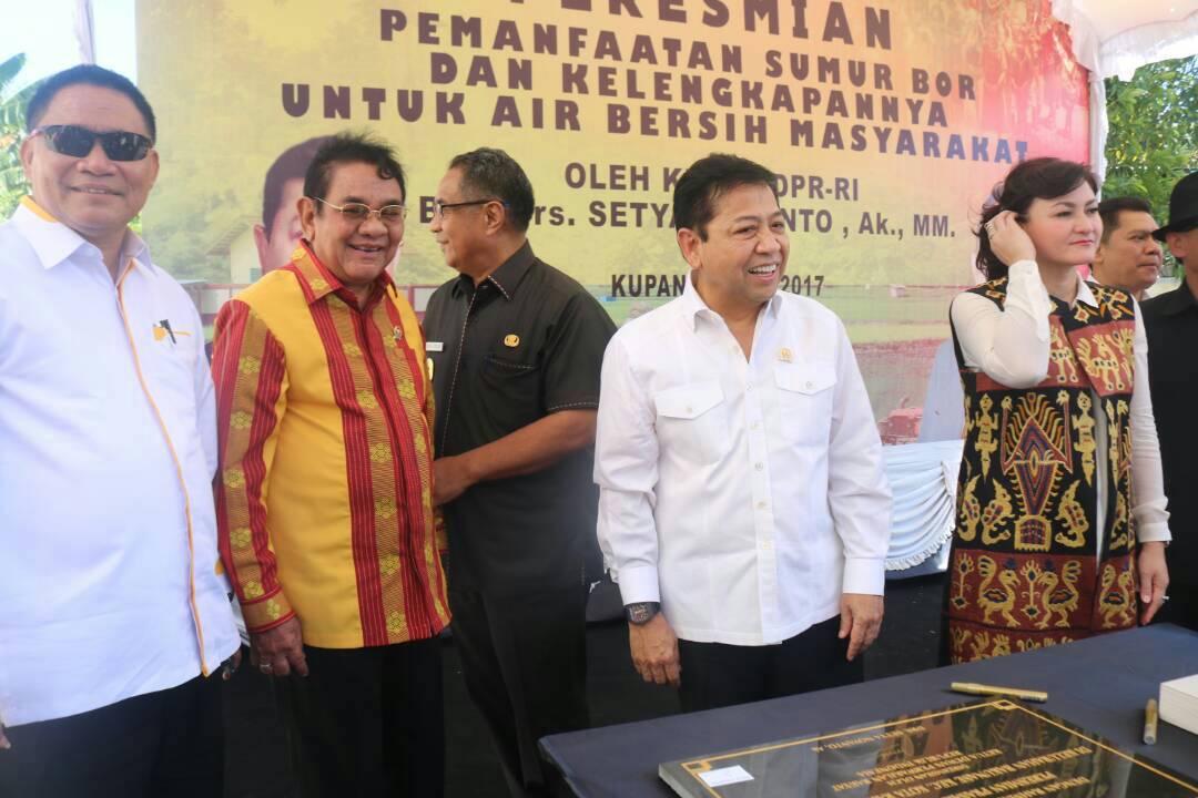 Setya Novanto Desak Pemerintah Segera Lengkapi Infrastruktur di NTT