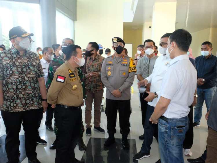 Pinto Jayanegara Minta Gedung Baru VVIP RSUD Raden Mattaher Harus Penuhi Standar RS COVID-19