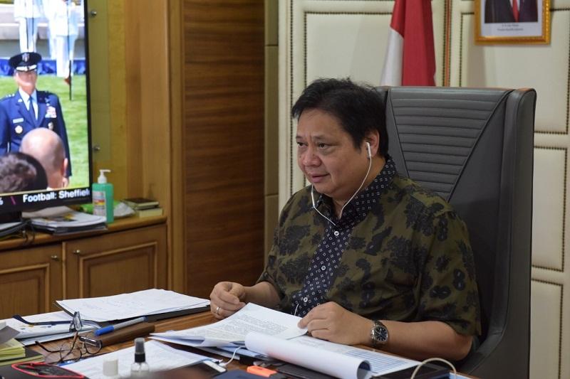 UU Cipta Kerja Gairahkan Investor, Menko Airlangga Optimis Investasi Tembus Rp.900 Triliun Per Tahun