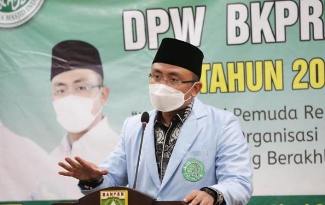 Wagub Andika Hazrumy Ajak Remaja Masjid Putus Penyebaran COVID-19 di Banten