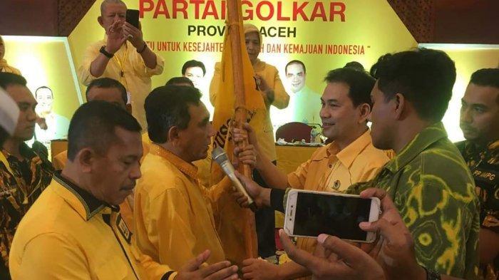 Tepilih Aklamasi, TM Nurlif Kembali Pimpin Golkar Aceh