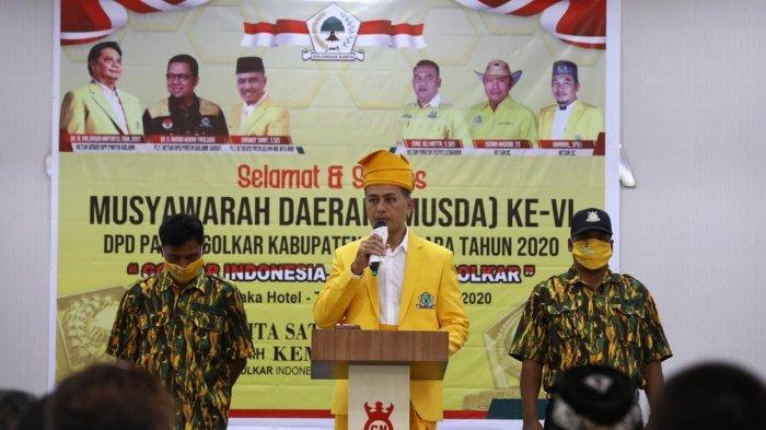 HUT Ke-56, Wagub Sumut Musa Rajekshah Ungkap Rasa Bangga Jadi Kader Partai Golkar