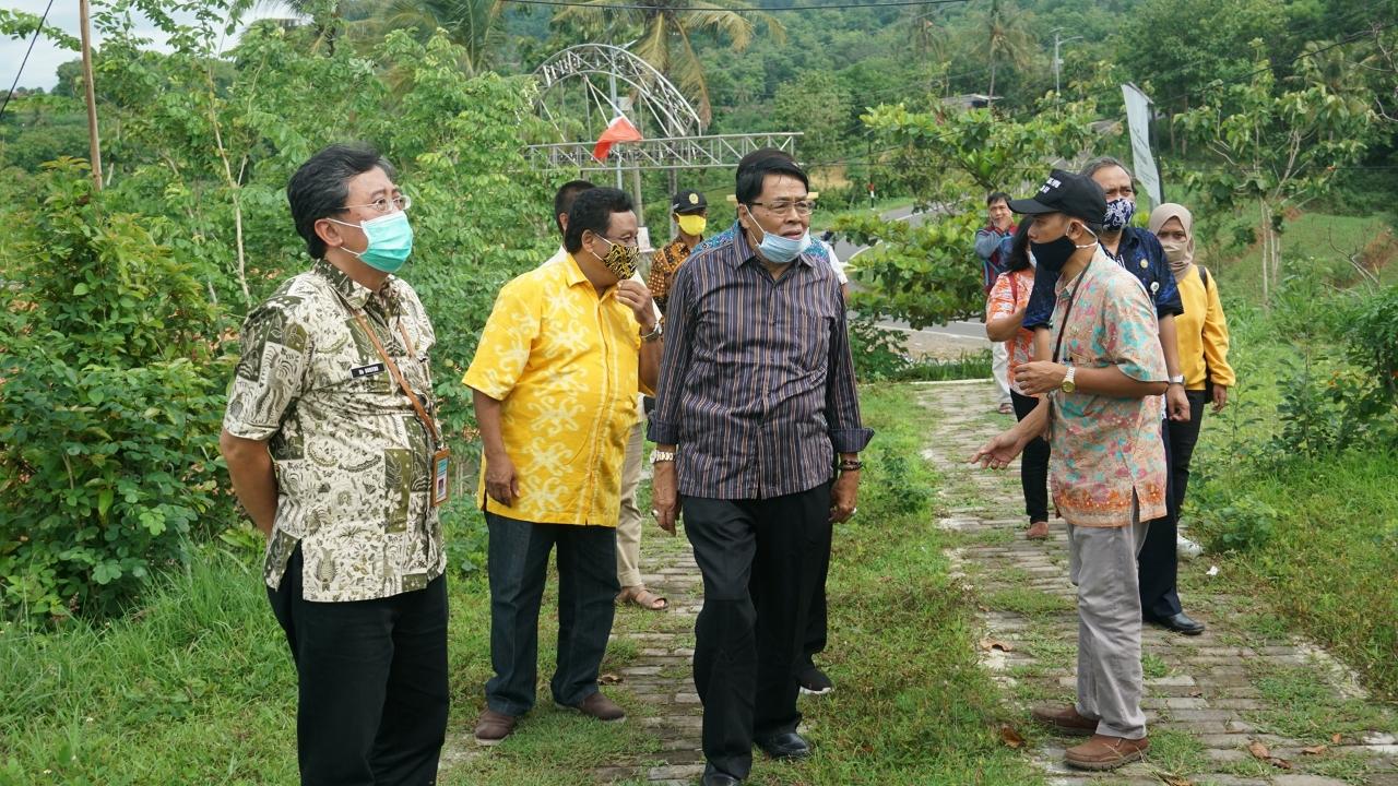 Gandung Pardiman Dukung Penuh Pemkab Bantul Kembangkan Agro Wisata Nawungan