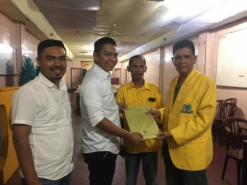 Anthon Sihombing Daftar Balon Walikota Siantar dan Balon Bupati Simalungun di Golkar